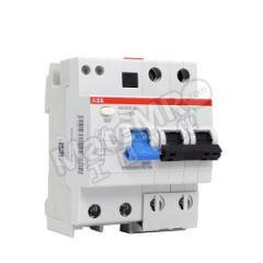 ABB GSH200系列剩余电流动作断路器 GSH202 A-C32/0.03 脱扣类型:C 极数:2P 分断能力:6kA 额定电压:AC230V/400V 额定电流:32A  个