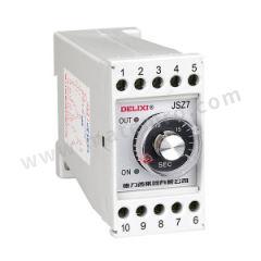 德力西 JSZ7系列引进超级时间继电器 JSZ7-T3D3D DC110V 额定电流:3A  个