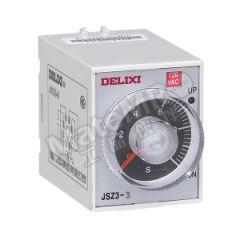 德力西 JSZ3系列引进超级时间继电器 JSZ3A-E 60S/10M/60M/6H  DC220V 额定电流:5A 功能:接通或切断较高电压、较大电流的电路  个