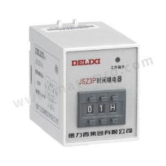 德力西 JSZ3P系列数字式时间继电器 JSZ3P-1C 1-99M AC220V 额定电流:5A 功能:接通或切断较高电压、较大电流的电路  个