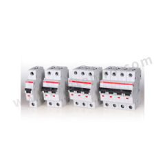 ABB S200系列微型断路器 S201P-C63 (DE) 极数:1P 脱扣类型:C 额定电压:AC230/400V 额定电流:63A  个