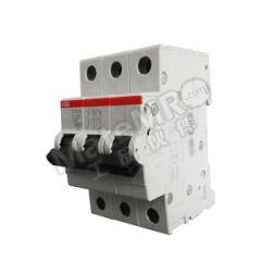 ABB S200系列微型断路器 S203M-B25 脱扣类型:B 极数:3P 额定电压:AC230/400V 额定电流:25A  个