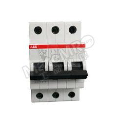 ABB S200系列微型断路器 S203M-B6 脱扣类型:B 极数:3P 额定电流:6A 额定电压:AC230/400V  个