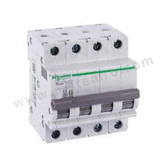 施耐德电气 OSMC系列小型断路器 OSMC32N-C20A/4P 脱扣类型:C 额定电流:20A 额定电压:AC400V  个