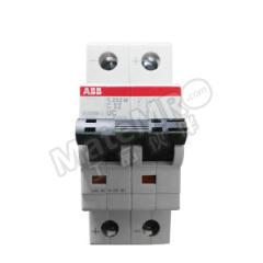 ABB S200MT-UC(轨交)系列微型断路器 S202MT-C32UC 脱扣类型:C 极数:2P 额定电流:32A 额定电压:AC240/415V  个