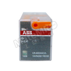 ABB CR-M系列中间继电器 CR-M110AC2L 是否带LED指示灯:是 触点类型:2C/O 控制电压:AC110V  盒