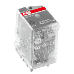 ABB CR-M系列中间继电器 CR-M230AC4L 是否带LED指示灯:是 触点类型:4C/O 控制电压:AC230V  盒