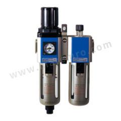 亚德客 GFC600系列二联件 GFC60025C1W 是否有压力表:是 排水方式:差压排水式 附件类型:附支架 压力范围:0.15~0.9MPa 接口:Rc1  套