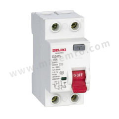 德力西 DZ47L系列漏电保护开关 DZ47L 4P 25A 30mA AC 额定电压:AC230/400V 额定电流:25A  个