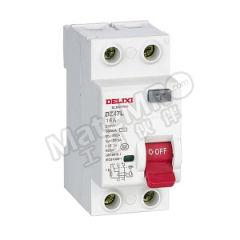 德力西 DZ47L系列漏电保护开关 DZ47L 4P 20A 100mA A 额定电压:AC230/400V 额定电流:20A  个