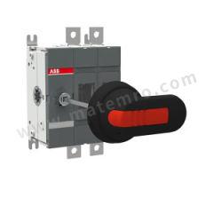ABB OT系列隔离开关 OTDC200E02P 极数:2P 额定电流:200A  个