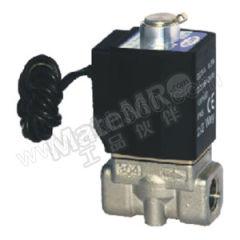 亚德客 2KL系列流体控制阀(直动常开型) 2KLH050-15F-I 接口形式:内螺纹 公称直径:4mm 公称压力:30bar  个