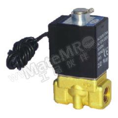 亚德客 2KW系列流体控制阀(直动常开型) 2KWL050-10C-I 接口形式:内螺纹 公称直径:7mm 公称压力:30bar  个
