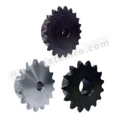 正盟 DL25B型碳钢链轮 DL25B21-N-10L 轴孔径:15mm 齿数:21  个