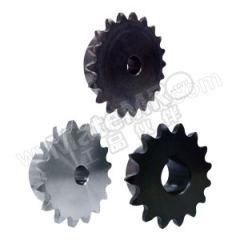 正盟 DL35B型碳钢链轮 DL35B38-S-12L 轴孔径:12mm 齿数:38  个