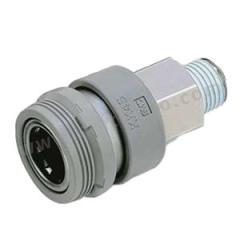 SMC KK系列外螺纹连接器插座 KK6S-04MS  个