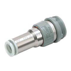 SMC KK系列快换接头直通型连接器插座 KK4S-10H  个