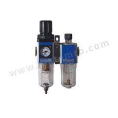 亚德客 GFC300系列二联件 GFC30010ALF3WGK 是否有压力表:是 附件类型:附支架+逆流阀 排水方式:自动排水式 接口:G3/8 压力范围:1.5~9bar  套