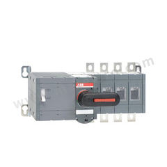 ABB PC级电动转换开关 OTM400E4M230C 极数:4P 额定电压:AC1kV 额定电流:400A  个