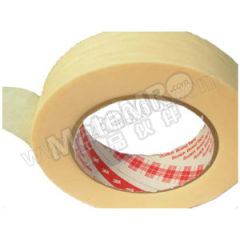 3M 美纹纸胶带 2142 颜色:浅白黄色 厚度:0.14mm 长度:50m 短期耐高温:260℃  支