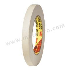 3M 美纹纸胶带 232 短期耐高温:121℃ 厚度:0.16mm 长度:55m  支