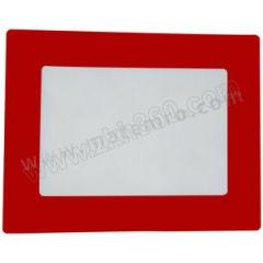 安赛瑞 耐磨型库位标记地贴(红色A3) 11761 材质:耐磨PC  张