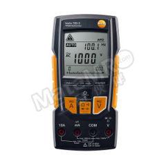 德图 数显真有效值万用表 testo 760-3 直流电压量程:0.1 ~ 1000 V 电阻量程:0.01 ~ 60.00 兆欧姆 直流电流量程:0.1 μA ~ 10 A  台