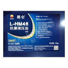 昆仑 抗磨液压油 L-HM46-(H) ISO类型:HM 40℃粘度:46mm²/s  桶