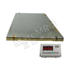 亚津 不锈钢包边双层电子地磅 SCS-P772A-NS-11215 秤面材质:不锈钢  个