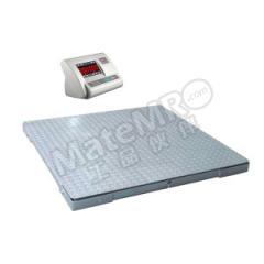 亚津 碳钢双层电子地磅 SCS-P772A-NN-050808 秤面材质:碳钢  个