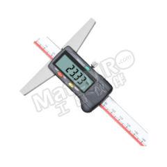 广陆 数显深度尺 121-104-1 是否可数据输出:是 测头尺寸:8.5mm 精度:±0.04 ±0.0015mm 基座长度:150mm  把