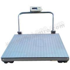 亚津 不锈钢包边手推移动地磅 SCS-P722-NS-20808 秤面材质:不锈钢  个