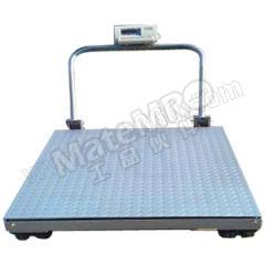 亚津 不锈钢包边手推移动地磅 SCS-P722-NS-11010 秤面材质:不锈钢  个