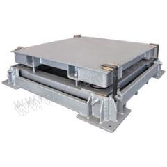 亚津 碳钢缓冲地磅 SCS-P720-NN-51012 秤面材质:碳钢  个