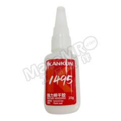 KANKUN 瞬干胶 1495 最大填充间隙:0.1mm 颜色:透明  瓶