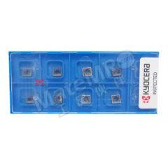 京瓷 SPMT铣刀片 SPMT1806EDSR-NB2T PR1210 刀具材质:硬质合金 刀尖圆弧半径:1.2mm  盒
