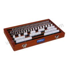 FOWLER 112件套陶瓷量块套装 53423100 间隔:0.001 0.01 0.5 25mm 标称长度系列:1.0005 1.001~1.009 1.01~1.49 0.5~24.5 25~100mm 级别:0级  套