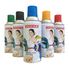 三和 环保水性喷漆 J8A4-60-230 色号:4哑光黑 净含量:230g  箱