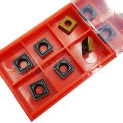 京瓷 SDMT铣刀片 SDMT080308E-K KW10 刀具材质:硬质合金 刀尖圆弧半径:0.8mm  盒