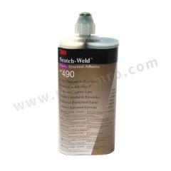 3M 环氧胶粘剂 DP490 固化方式:室温固化 组份:双组份 颜色:黑色  支