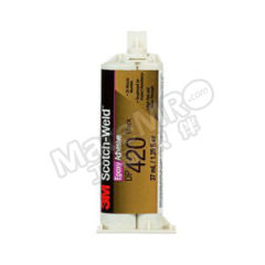 3M 环氧结构粘接胶 DP420 固化方式:室温固化 组份:双组份 颜色:黑色  支