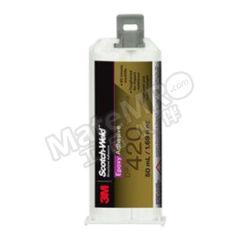 3M 环氧结构粘接胶-增韧型 DP420 颜色:乳白色 固化方式:室温固化 组份:双组份  支