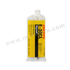乐泰 环氧结构粘接胶-低粘度型 E-30CL 组份:双组份 颜色:透明  支