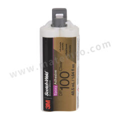 3M 环氧结构胶—快固半透明型 DP100 固化方式:室温固化 组份:双组份 流动性:自流平性 颜色:透明色  支