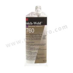 3M 耐高温环氧胶粘剂 SCOTCH-WELD DP-760 固化方式:室温固化 组份:双组份 颜色:白色  支