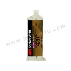 3M 环氧结构粘接胶 DP420NS 固化方式:室温固化 组份:双组份 颜色:黑色  支