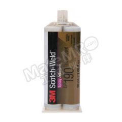 3M 环氧结构粘接胶-高强度半透明型 DP190 颜色:半透明 固化方式:室温固化 组份:双组份  支