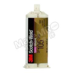 3M 环氧树脂粘接胶 DP105 固化方式:室温固化 组份:双组份 颜色:透明  支