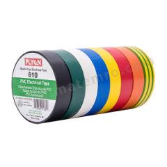PLYON 商业级PVC电气胶带 610 击穿电压:6kV 温度等级:90℃ 厚度:0.15mm 长度:20m 宽度:19mm  卷
