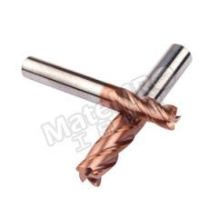 耐高酷乐 四刃圆鼻R角加长整体硬质合金钢用铣刀 E435 120 D  30 100 R200 L 刃数:4 柄径:12mm  支